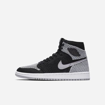 Nike Air Jordan 1 Retro High Flyknit - Siyah