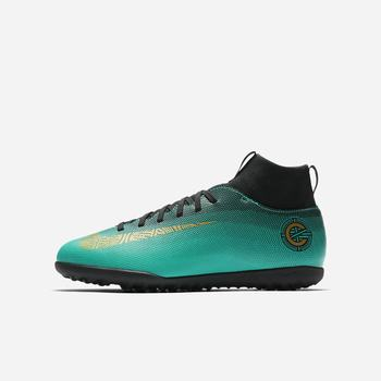 Nike Jr. MercurialX Superfly VI Club CR7 TF - Yeşil