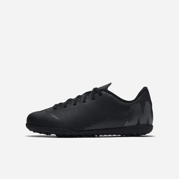 Nike Jr. MercurialX Vapor XII Club TF - Siyah