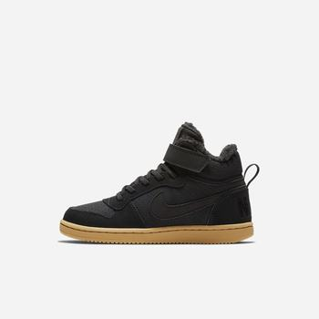 Nike Court Borough Mid Winter - Siyah