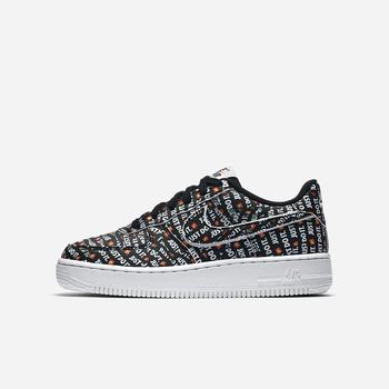 Nike Air Force 1 Just Do It Premium - Siyah