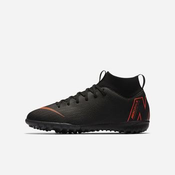 Nike Jr. MercurialX Superfly VI Academy Just Do It - Siyah