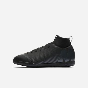 Nike Jr. MercurialX Superfly VI Club IC - Siyah