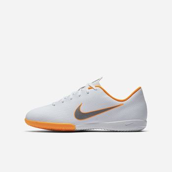 Nike Jr. MercurialX Vapor XII Academy Just Do It IC - Beyaz