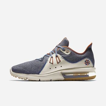 Nike Air Max Sequent 3 Premium VST - Siyah Mavi
