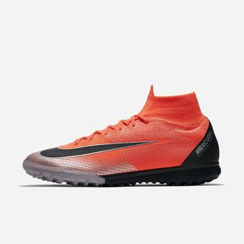 Nike MercurialX Superfly 360 Elite CR7 TF - Kırmızı