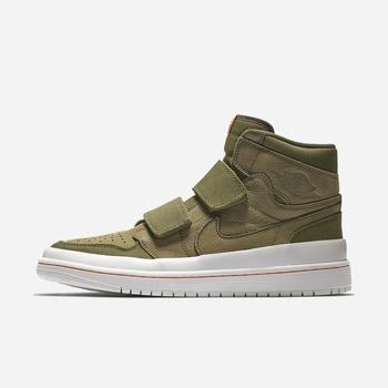 Nike Air Jordan 1 Retro High Double-Strap - Zeytin Yeşili