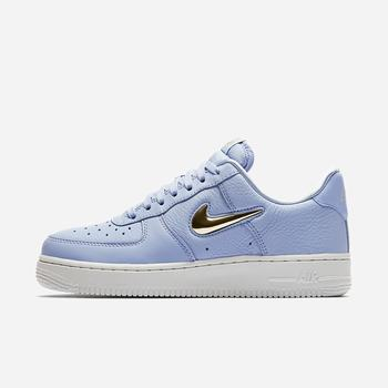 Nike Air Force 1 '07 Premium LX - Kraliyet Mavisi