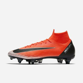 Nike CR7 Superfly 6 Elite Anti-Clog SG-PRO - Kırmızı