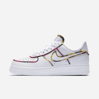 Nike Air Force 1 Low Tartan - Beyaz